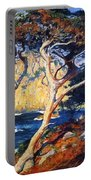 Point Lobos Trees 1919 Portable Battery Charger