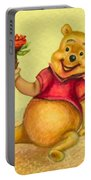 Pooh Bear Portable Battery Charger