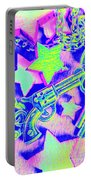 Pop Art Police Portable Battery Charger
