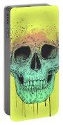 Pop Art Skull Portable Battery Charger