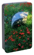 Poppies And Rocks Portable Battery Charger