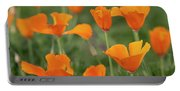 Poppies In The Breeze Portable Battery Charger
