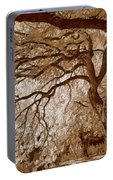 Portrait Of A Tree In Infrared Portable Battery Charger