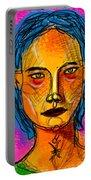 Portrait Of A Woman 1139 Portable Battery Charger