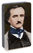 Portrait Of Edgar Allan Poe, Circa 1849 Portable Battery Charger