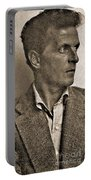 Portrait Of Ludwig Wittgenstein, 1947 Portable Battery Charger