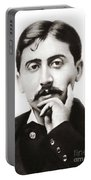 Portrait Of The French Author Marcel Proust Portable Battery Charger