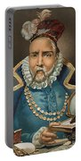 Portrait Of Tycho Brahe Portable Battery Charger