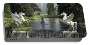 Powerscourt House Terrace And Fountain Portable Battery Charger