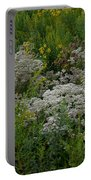 Prairie Bouquet  Portable Battery Charger