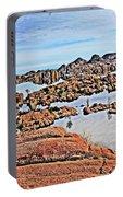 Prescott Arizona Watson Lake Rocks, Hills Water Sky Clouds 3122019 4870 Portable Battery Charger