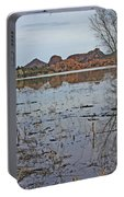 Prescott Arizona Watson Lake Sky Clouds Hills Rocks Trees Grasses Water 3142019 4920 Portable Battery Charger