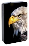 Profile Of Bald Eagle Portable Battery Charger