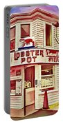 Provincetown Tradition Lobster Pot Portable Battery Charger