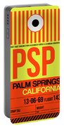 Psp Palm Springs Luggage Tag I Portable Battery Charger