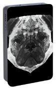 Pug's Face Portable Battery Charger