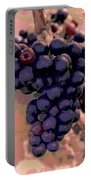Purple Grape Bunches 18 Portable Battery Charger