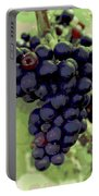 Purple Grape Bunches 19 Portable Battery Charger
