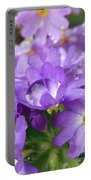 Purple Pearl Portable Battery Charger