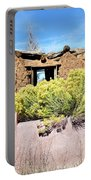 Rabbitbrush And Adobe Ruins Portable Battery Charger