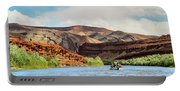 Rafting On The San Juan River Portable Battery Charger