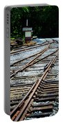 Railroad Siding Tracks Portable Battery Charger