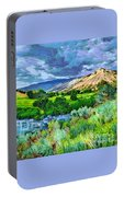 Rain Clouds On The Way To Sweetwater Portable Battery Charger