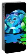 Rainbow Painted Cats Portable Battery Charger