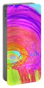 Rainbow Shell Portable Battery Charger