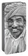 Rajput High School Teacher Bw Portable Battery Charger