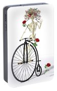 Rambling Rosy  Portable Battery Charger