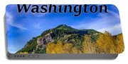 Randle Washington In Fall Portable Battery Charger