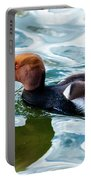 Red Crested Red Beak Red Eye Duck Portable Battery Charger