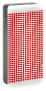 Red Dot Map Of Arkansas Portable Battery Charger
