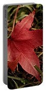 Red Leaf Portable Battery Charger