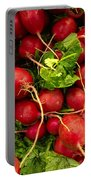 Red Radishes Portable Battery Charger