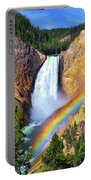 Red Rock Rainbow Portable Battery Charger by Greg Norrell