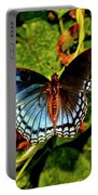 Red-spotted Purple Butterfly 017 Portable Battery Charger