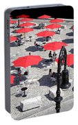 Red Umbrellas 2 Portable Battery Charger