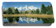 Reflection Of Mountains In Water, Grand Portable Battery Charger