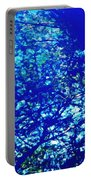 Reflection On A Blue Automobile 3 Portable Battery Charger