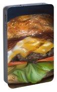 Renaissance Burger  Portable Battery Charger