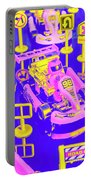 Retro Race Day Portable Battery Charger