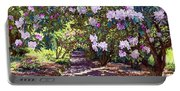 Rhododendron Garden Portable Battery Charger