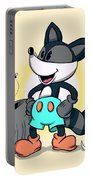 Ricky Raccoon  Portable Battery Charger
