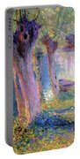 River Epte Giverny 1910  Portable Battery Charger