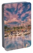 River Scene, River Arun At Littlehampton Portable Battery Charger