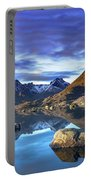 Rock Reflection Landscape Portable Battery Charger