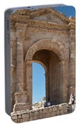 Roman Arched Entry Portable Battery Charger