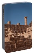 Roman Temple In Petra Portable Battery Charger